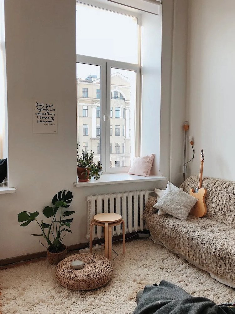 Interior of apartment.